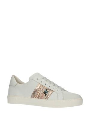 30308  leren sneakers wit/multi