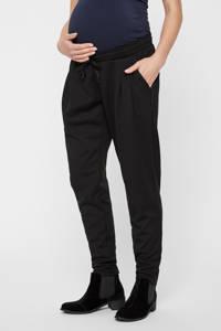 MAMALICIOUS high waist wide leg broek MLLIF zwart, Zwart