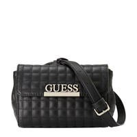 GUESS   crossbody tas MATRIX zwart, Zwart