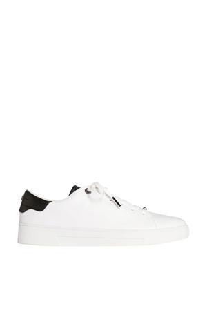Zenib  leren sneakers wit/zwart