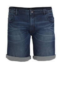 URBN SAINT slim fit jeans short atlantic blue, Atlantic Blue