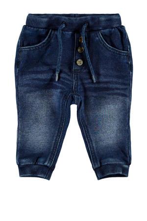 baby slim fit jeans Romeo met biologisch katoen stonewashed