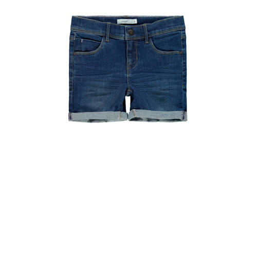 NAME IT KIDS jeans short Salli donkerblauw