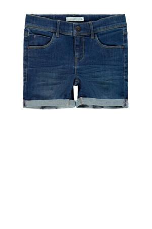 jeans short Salli donkerblauw