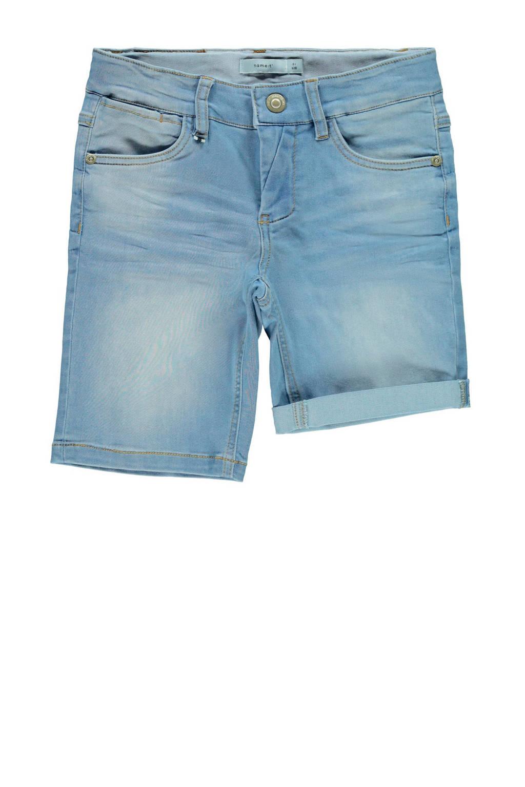 NAME IT KIDS jeans bermuda Theo, Light denim bleached