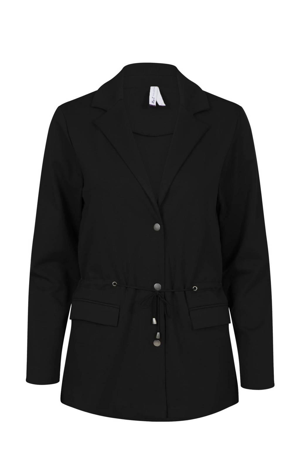 Miss Etam Regulier jasje zwart, Zwart