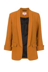 Miss Etam Regulier blazer oranje, Oranje