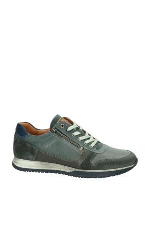 Browning  leren sneakers grijs