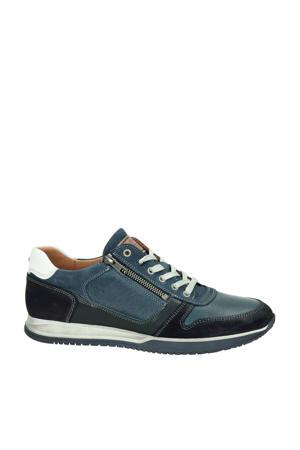 Browning  leren sneakers blauw