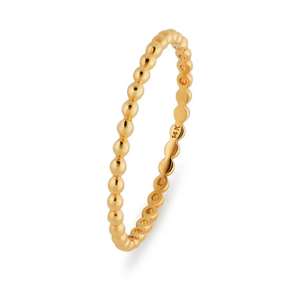 Isabel Bernard 14 karaat gouden ring - IBXR00084, Goudkleurig