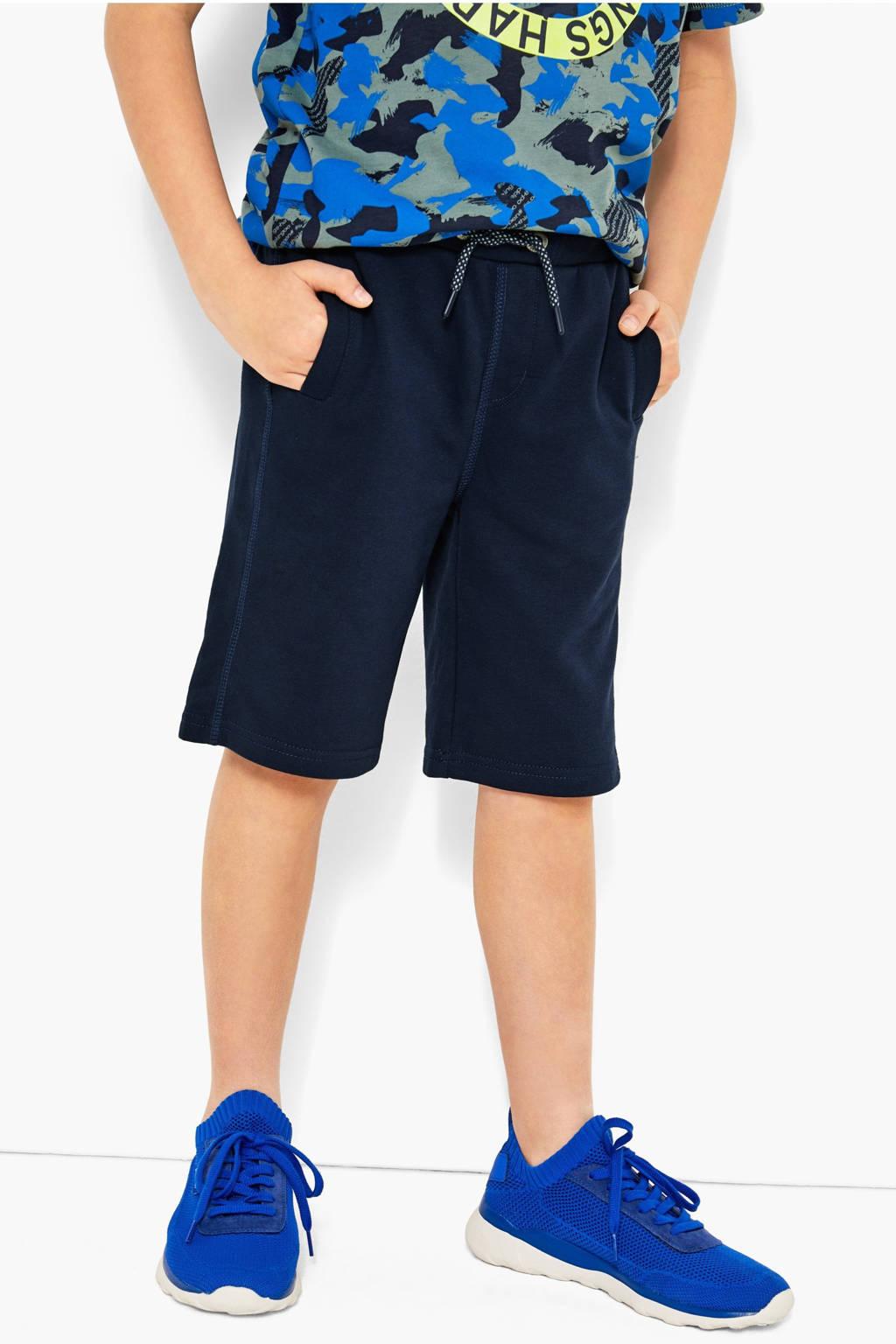 s.Oliver sweatshort donkerblauw, Donkerblauw