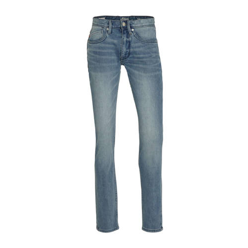 s.Oliver slim fit jeans blauw