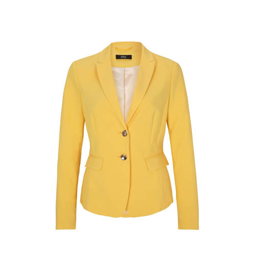 s.Oliver BLACK LABEL blazer geel