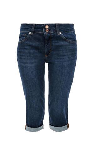 slim fit capri jeans donkerblauw