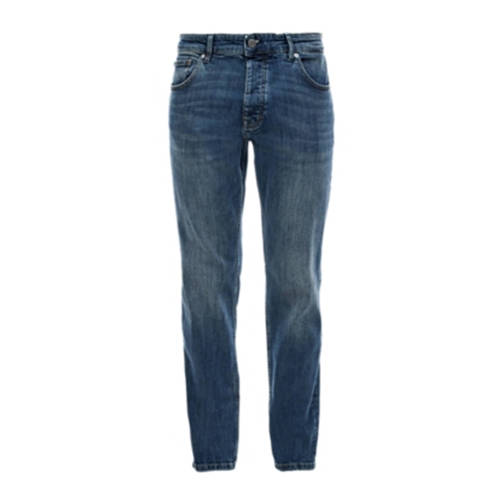 Q/S designed by regular fit jeans blauw