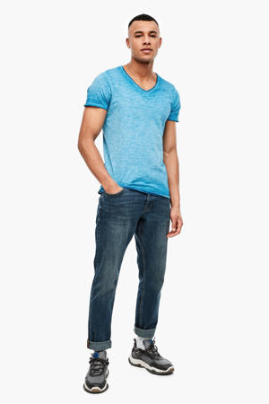 gemêleerd T-shirt turquoise