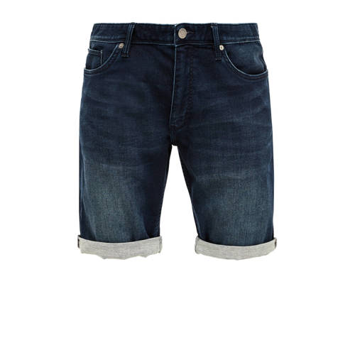 Q/S designed by slim fit jeans donkerblauw