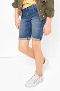 s.Oliver regular fit jeans short stonewashed, Stonewashed