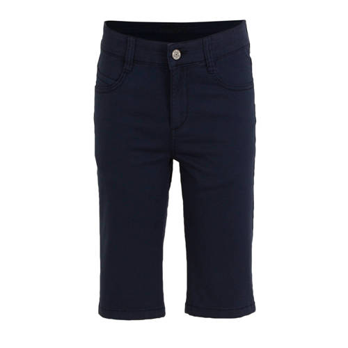 s.Oliver regular fit bermuda donkerblauw