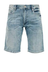 Q/S designed by regular fit jeans short denim, Denim