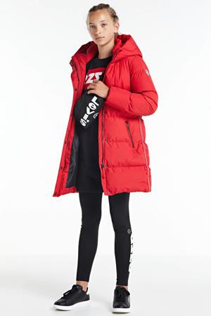 winterjas rood