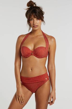 omslag bikinibroekje brique