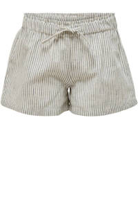 KIDS ONLY gestreepte short Canyon wit/donkerblauw, Wit/donkerblauw