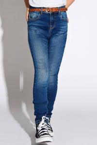 KIDS ONLY high waist skinny jeans Paola stonewashed, Stonewashed