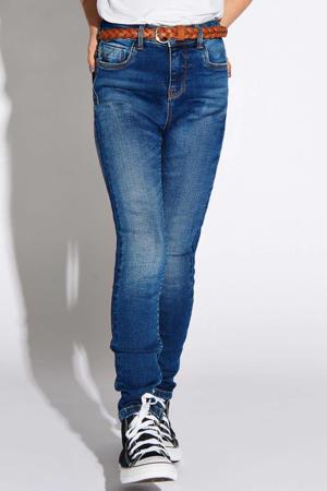 high waist skinny jeans Paola stonewashed