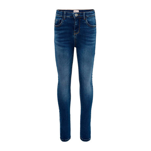 KIDS ONLY high waist skinny jeans Paola stonewashe