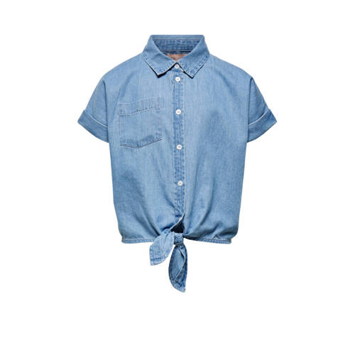 KIDS ONLY blouse Ronja light denim