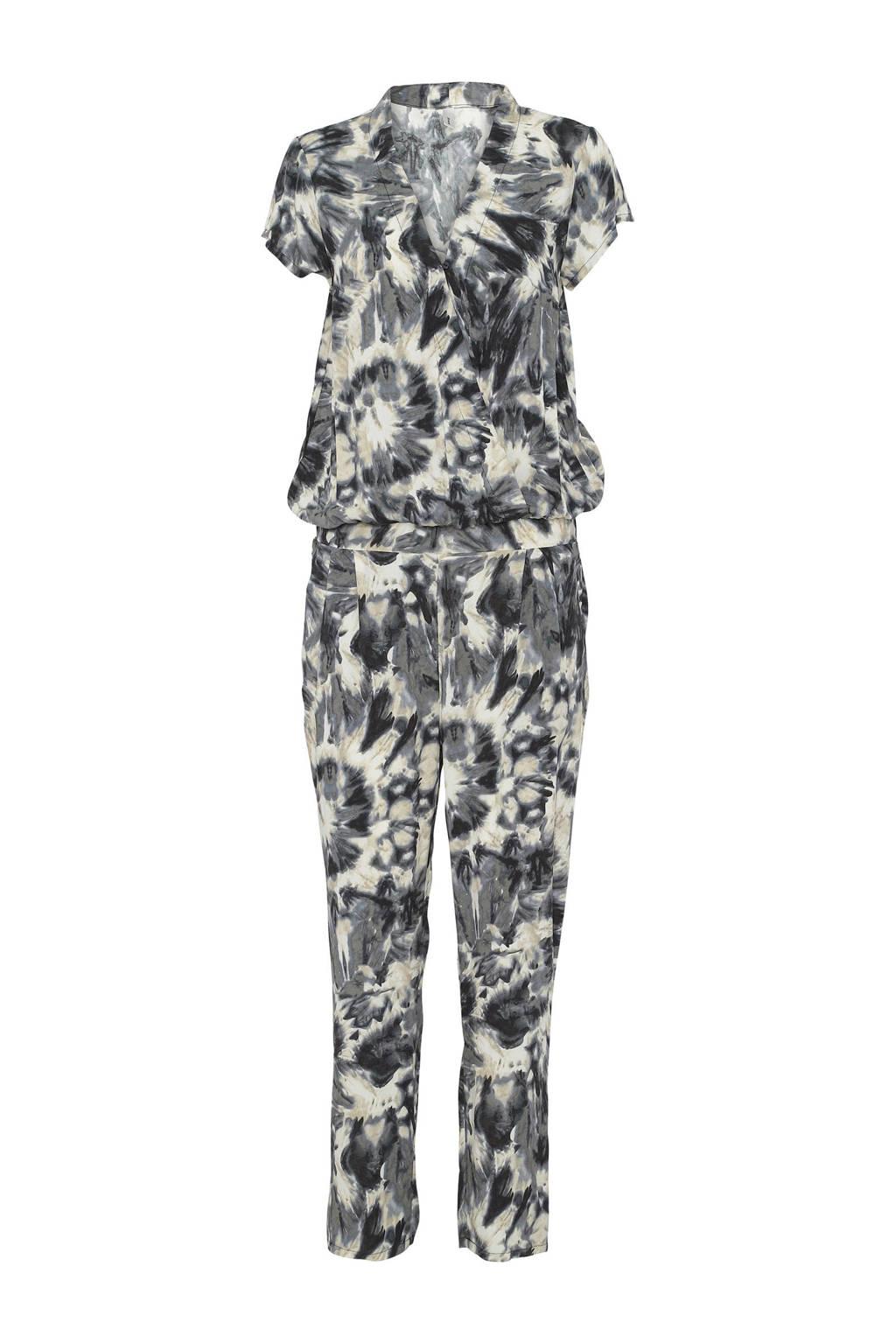 Soyaconcept jumpsuit met all over print grijs, Grijs