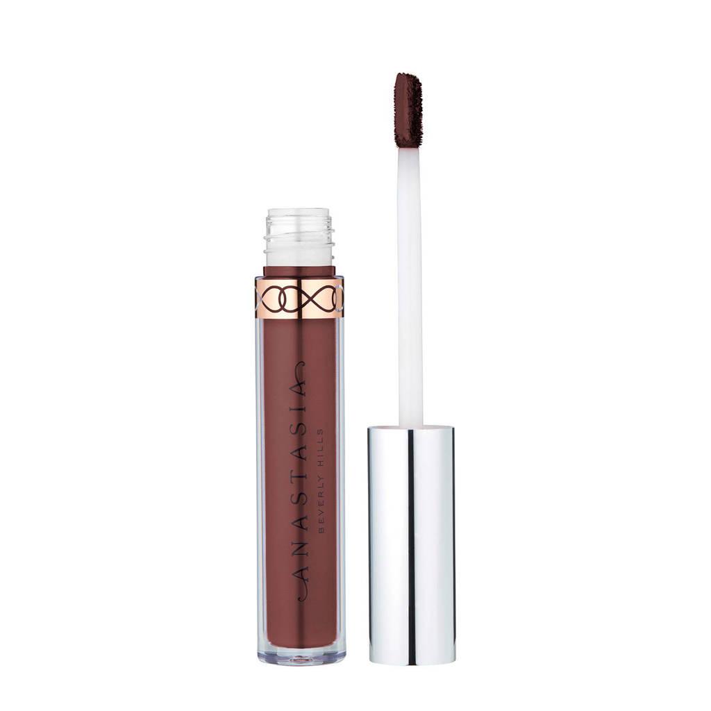 Anastasia Beverly Hills liquid lipstick Bittersweet