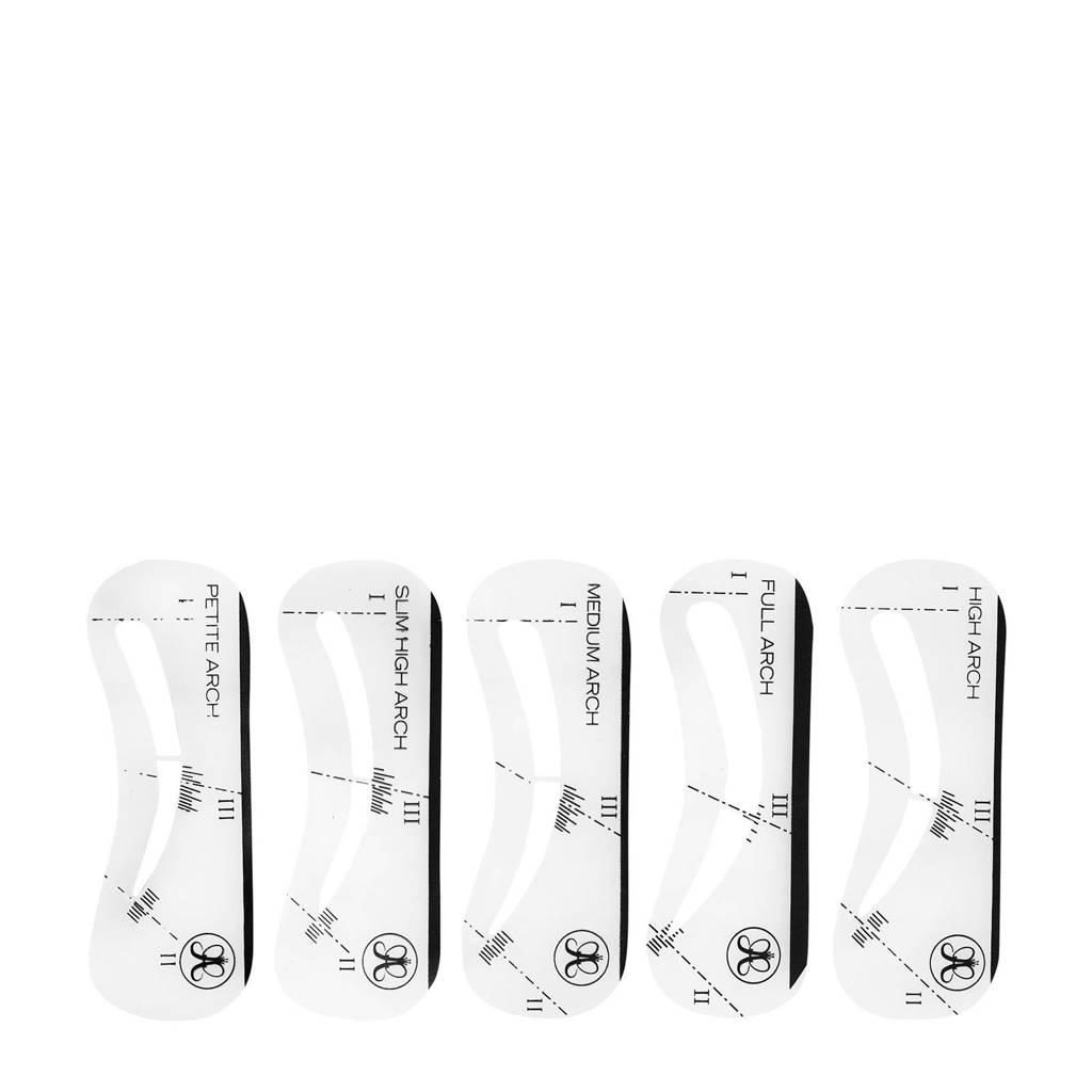 Anastasia Beverly Hills Stencils 5-pack wenkbrauw sjablonen