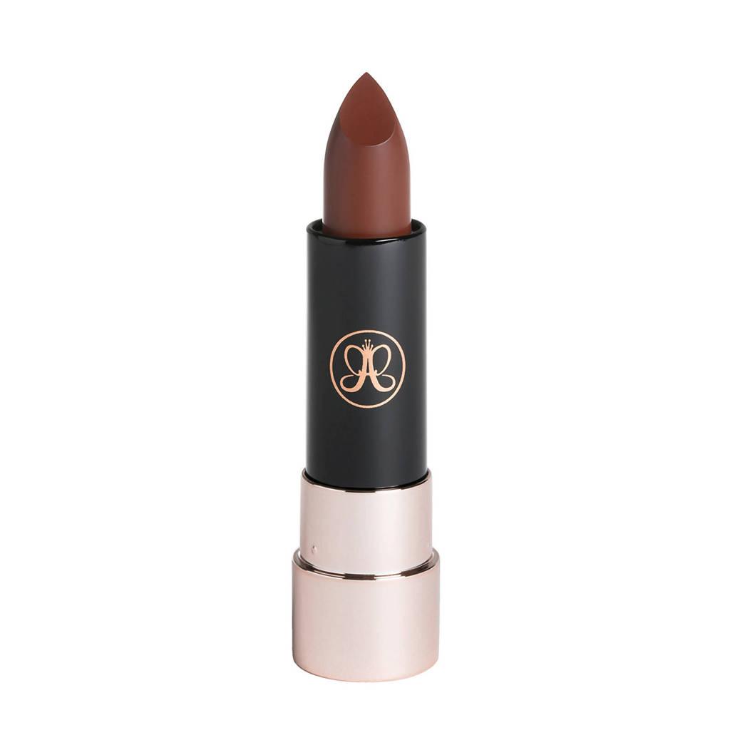 Anastasia Beverly Hills matte lipstick - Rust