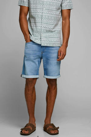 regular fit jeans short Rick blue denim