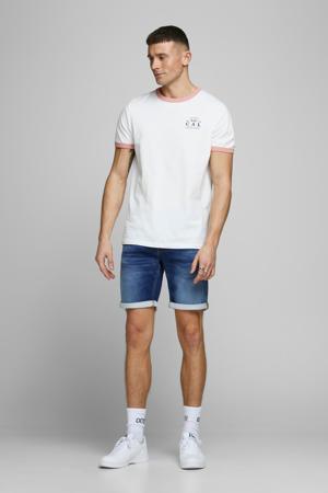 regular fit jeans short Rick blue denim