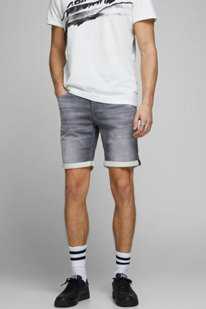 regular fit jeans short Rick grey denim