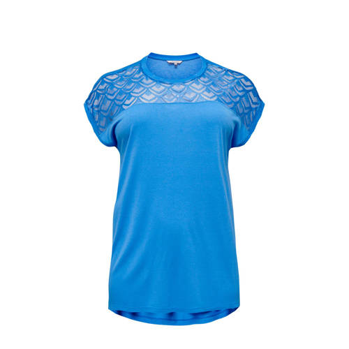 ONLY CARMAKOMA T-shirt blauw