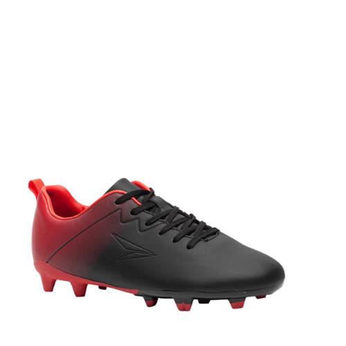 Scapino Dutchy voetbalschoenen zwart/rood