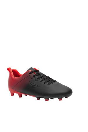 voetbalschoenen zwart/rood