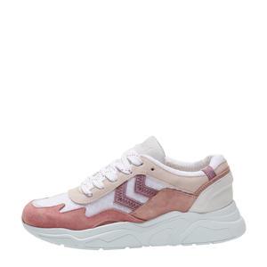 Braga  sneakers bruin/wit