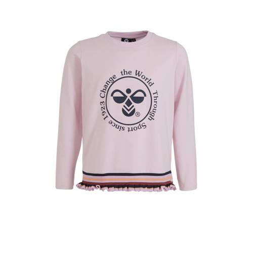 hummel sweater lichtroze