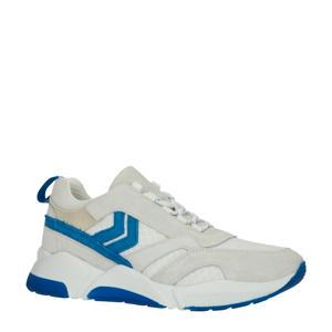 HIVE Alberta suède sneakers beige/blauw