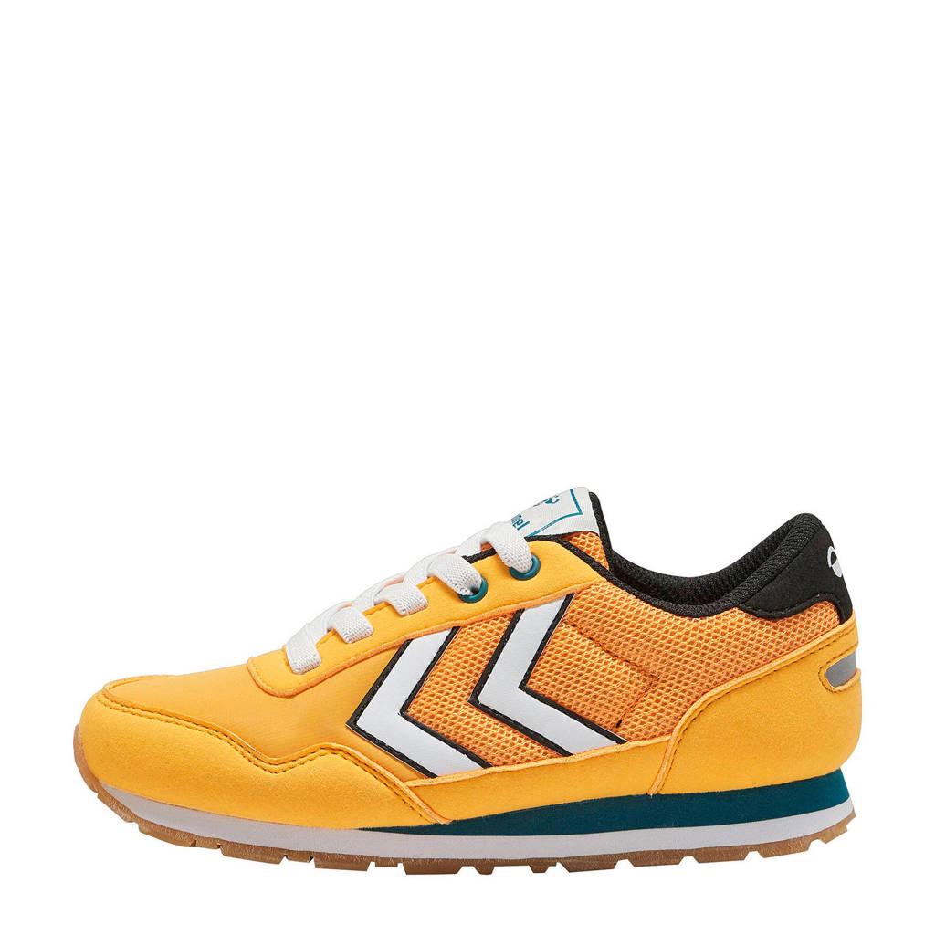 hummel Reflex JR  sneakers geel, Geel/wit