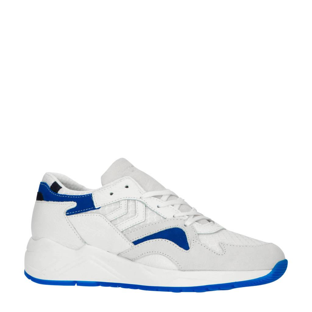hummel HIVE Edmonton Premium sneakers off white/blauw, Off white/blauw