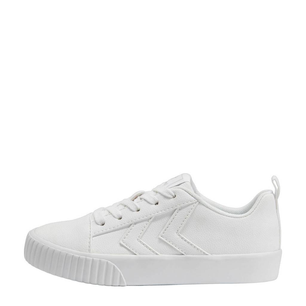 hummel Base Court Classic Jr  sneakers wit, Wit