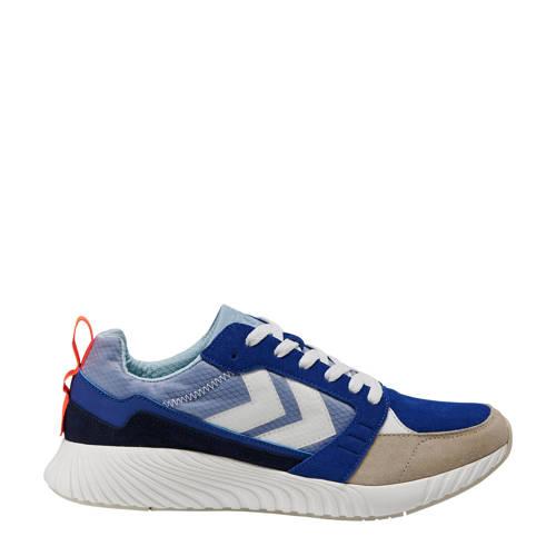 hummel Competition sportschoenen blauw/beige