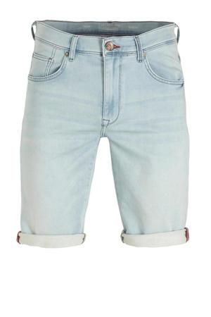 slim fit jeans short light denim