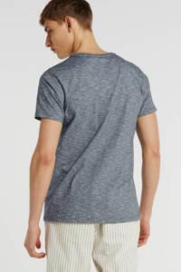 Petrol Industries T-shirt met logo grijsblauw, Grijsblauw